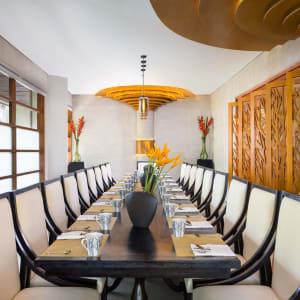 Nusa Dua Beach Hotel & Spa à Sud de Bali: Wedang Jahe Restaurant   Private room