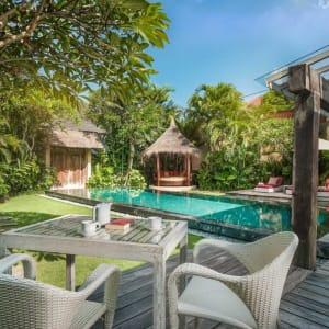 Space Villas Bali in Südbali:  2-Bedroom Villa | outdoor area