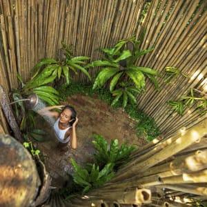 Wa Ale in Mergui Archipel: Alfresco-shower