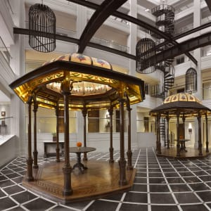The Lalit Great Eastern in Kolkata: Atrium Lobby