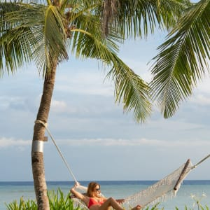 South Palms Resort Panglao à Bohol: Beach Hammock