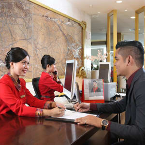 Swiss-Belhotel Makassar:  CHECK IN