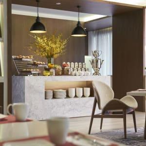 Orchard Rendezvous à Singapour: Club Lounge   Tea Setup