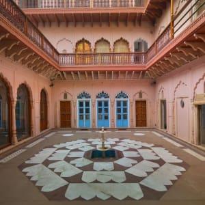 Haveli Dharampura in Delhi: Courtyard