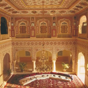 Samode Palace in Jaipur: Durbar hall