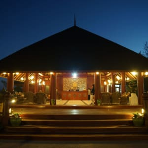 Pristine Lotus Resort in Inle Lake: Floating Duplex Reception