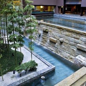 Kyoto Tokyu Hotel: garden