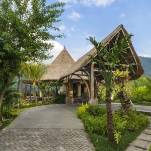 Wapa di Ume Sidemen à Ouest de Bali: Guest Drop Area at Wapa di Ume Sidemen