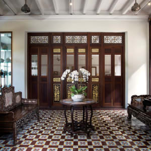 Seven Terraces in Penang:  Guest Waiting Lobby