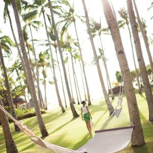 Shangri-La's Boracay Resort & Spa: Hanging matt