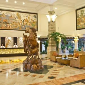Bali Rani in Südbali: HOTEL LOBBY
