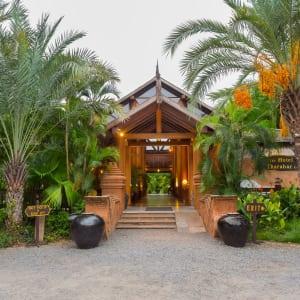 The Hotel @ Tharabar Gate in Bagan: Hotel Lobby Entrance