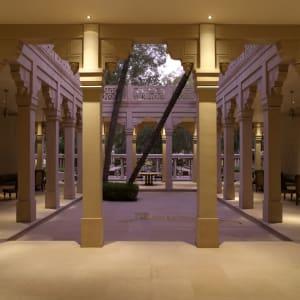 Aman Geniesser-Reise ab Jaipur: facilities: Inner Courtyard