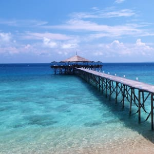 JapaMala Resort in Tioman:  Jetty