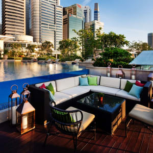 The Fullerton Bay à Singapour: Lantern - Pool Seating
