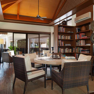 El Nido Resorts Pangulasian Island in Palawan: Library