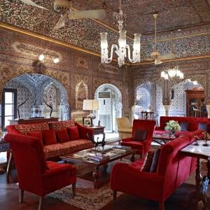 Samode Haveli in Jaipur: Living Room