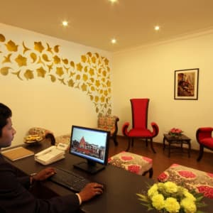 Suryauday Haveli à Varanasi: Lobby