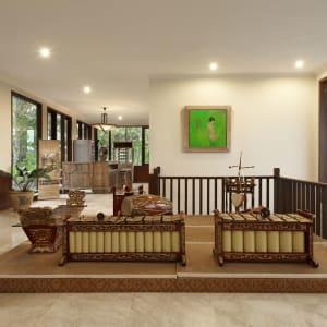 Plataran Borobudur Resort & Spa in Yogyakarta: Lobby