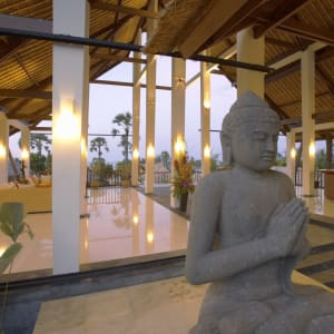 Siddhartha Ocean Front Resort & Spa in Ostbali: Lobby