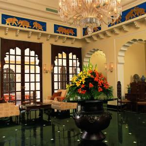The Oberoi Vanyavilas Wildlife Resort in Ranthambore: Lobby