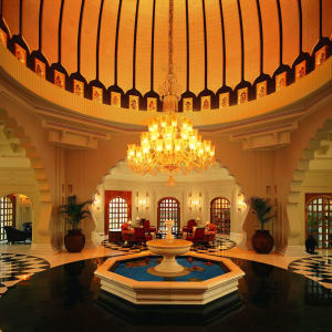 The Oberoi Udaivilas in Udaipur: Lobby