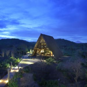 Jeeva Beloam Beach Camp in Lombok: Lobby