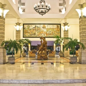 Bali Rani in Südbali: Lobby