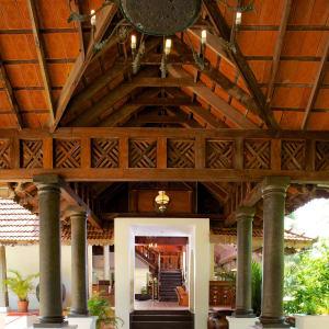 The Travancore Heritage in Kovalam: Lobby