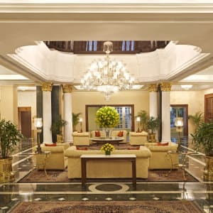 The Oberoi Grand à Kolkata: Lobby