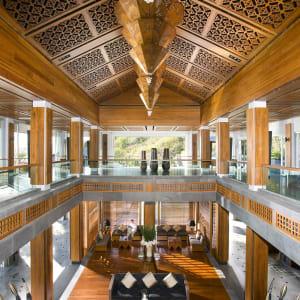 Mandarin Oriental Sanya à Hainan: Lobby