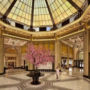 Fairmont Peace in Shanghai: Lobby Atrium
