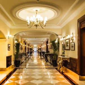 The Imperial in Delhi: Lobby Coridor