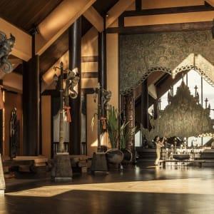 Anantara Golden Triangle Elephant Camp & Resort à Triangle d'Or: Lobby Entrance