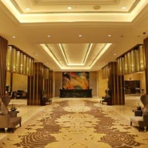 Pride Plaza Hotel Aerocity in Delhi: Lobby front long