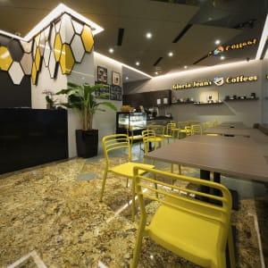 Hotel Mi in Singapur: Lobby with Cafe