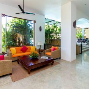 Aditya Resort à Hikkaduwa: Lounge