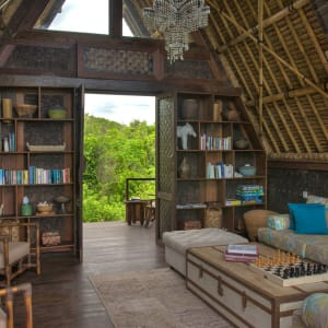 Jeeva Beloam Beach Camp in Lombok: Lounge