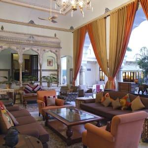 Samode Haveli in Jaipur: Lounge