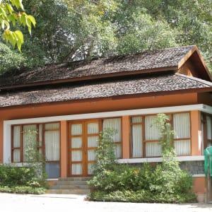Popa Garden Resort in Bagan: Meeting room | from outside