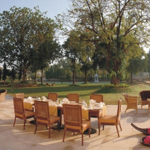 The Lalit Temple View in Khajuraho: Patio