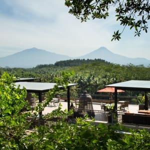 Plataran Borobudur Resort & Spa in Yogyakarta: Patio Deck