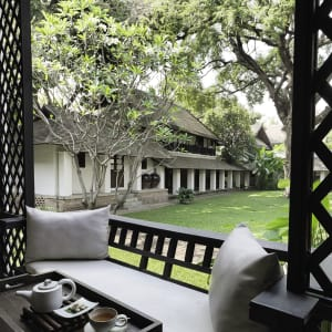 Tamarind Village in Chiang Mai: Peaceful Courtyard view from Lanna Deluxe Room