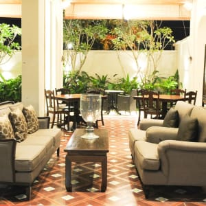 Seven Terraces in Penang:  Pool Lounge