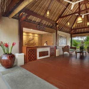 Jannata Resort & Spa in Ubud: Reception