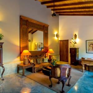 Aditya Resort in Hikkaduwa: Reception
