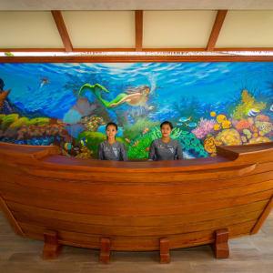 Pristine Mermaid Resort in Ngapali: Reception
