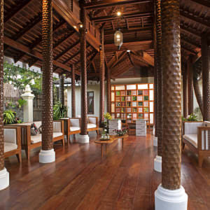 Art of Sand Resort in Ngapali: Reception
