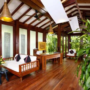 Sandoway Resort à Ngapali: Reception