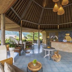Wapa di Ume Sidemen à Ouest de Bali: Reception Desk at wapa di Ume Sidement